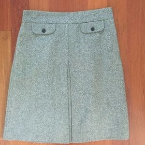 J Crew 100% Wool Skirt, size 2/4
